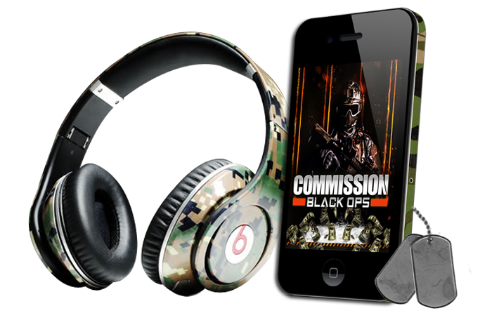 Commission Black Ops Audio