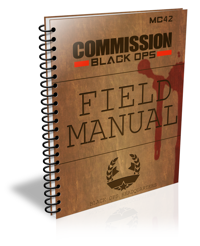 Commission Black Ops Field Manual